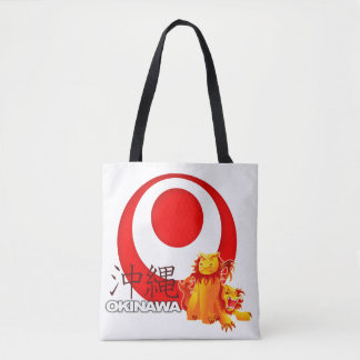 Okinawan Shisa Tasche