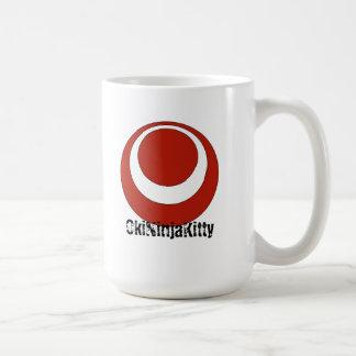 OkiNinjaKitty (Okinawa-Flagge) Kaffeetasse