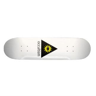 Okkultismus-Skateboard Skateboarddeck
