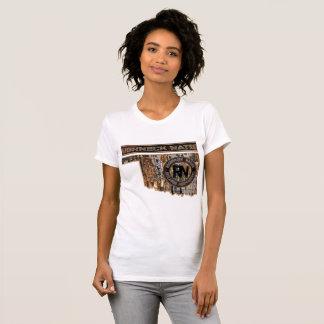 OKLAHOMA-ANLAGE HERAUF CAMOUFLAGE T-Shirt