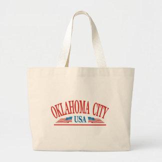 Oklahoma City USA Jumbo Stoffbeutel