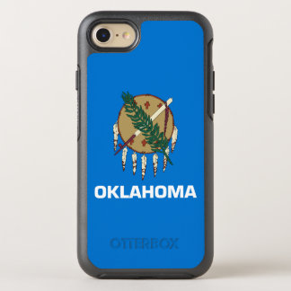 Oklahoma-Staats-Flagge OtterBox Symmetry iPhone 8/7 Hülle