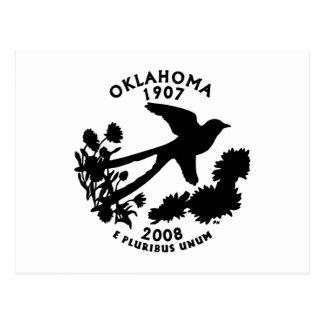 Oklahoma-Staats-Viertel Postkarten