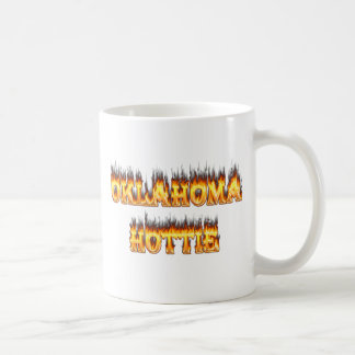Oklahomafeuer und -flammen kaffeetasse