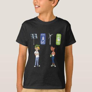 Öko cal u. Öko Betty - auswechselbare Energie T-Shirt