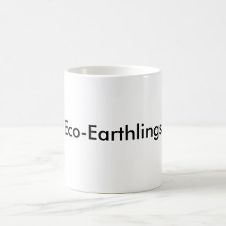 Öko-Erdenbürger Kaffeetasse