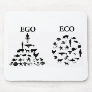 Öko gegen Ego Mousepads