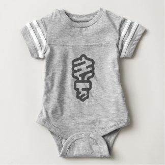 Öko-Glühlampe Baby Strampler