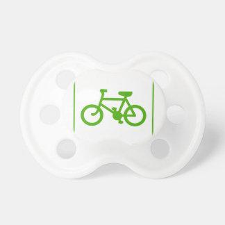 Öko grünen Fahrradikone, Fahrrad, Ökologie Schnuller