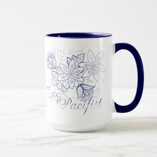 Öko-Pazifist Kaffee-Tasse Tasse