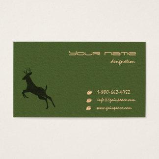 Öko themed visitenkarten