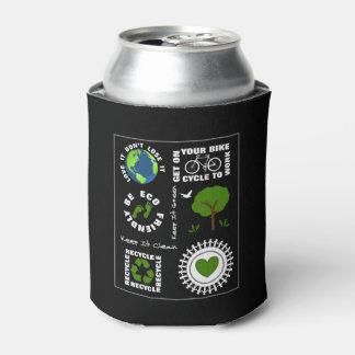 Ökologisch geht Themed Liebe-Planeten-Erde die Dosenkühler