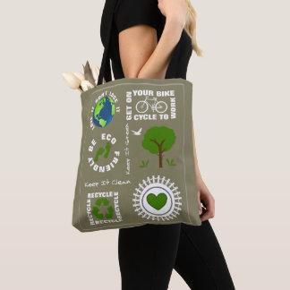 Ökologisch geht Themed Liebe-Planeten-Erde die Tasche
