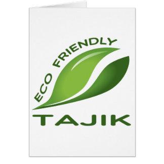 Ökologischer Tajik. Karte