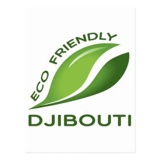 Ökologisches Dschibouti Postkarte