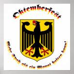 Oktemberfest MIT deutschem Wappen
