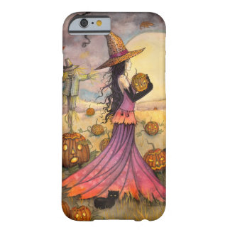 Oktober fängt Halloween-Hexe iPhone 6 Fall auf Barely There iPhone 6 Hülle