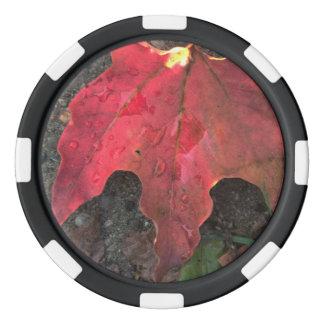 Oktober-Sonnenaufgang Poker Chip Set