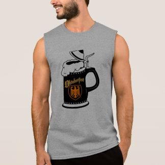 Oktoberest Bier Stein Ärmelloses Shirt