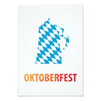 Oktoberfest 12,7 X 17,8 Cm Einladungskarte