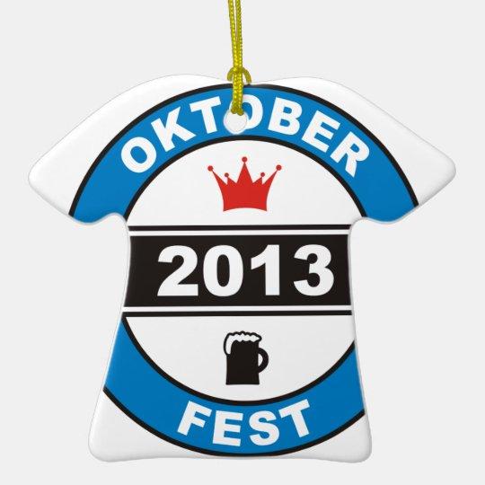 Oktoberfest 2013 keramik ornament