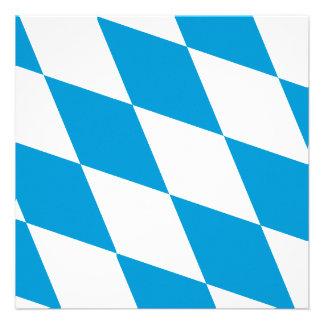Oktoberfest Bayern-Farben Ankündigung