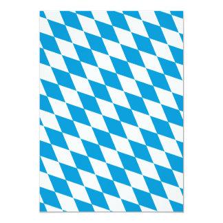 Oktoberfest, Bayern-Farben Personalisierte Einladungskarten