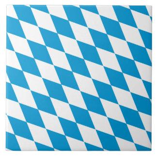 Oktoberfest, Bayern-Farben Keramikfliese