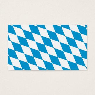 Oktoberfest, Bayern-Farben Visitenkarten
