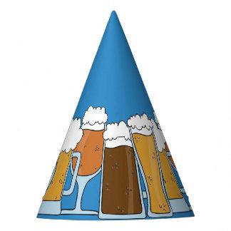 Oktoberfest Beerfest. Bier-Sammlung Partyhütchen
