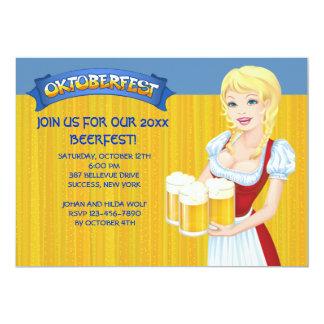 Oktoberfest Beerfest Einladung