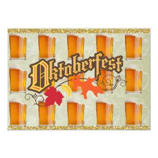 Oktoberfest Bier-Tassen Personalisierte Ankündigung