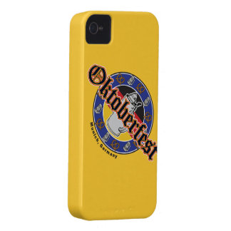 Oktoberfest Bier und Brezeln iPhone 4 Cover