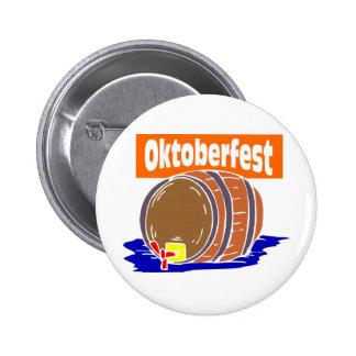 Oktoberfest Bierfaß Buttons