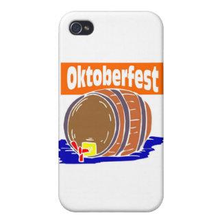 Oktoberfest Bierfaß iPhone 4 Schutzhüllen