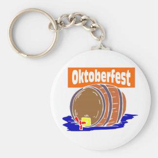 Oktoberfest Bierfaß Schlüsselanhänger