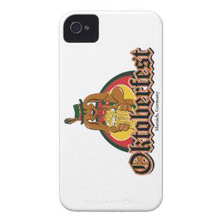 Oktoberfest Dackel-Bier iPhone 4 Hüllen
