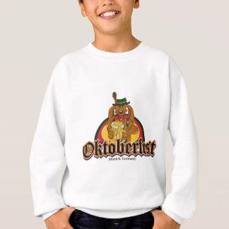 Oktoberfest Dackel-Bier Sweatshirt