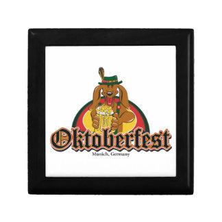 Oktoberfest Dackel Geschenkbox