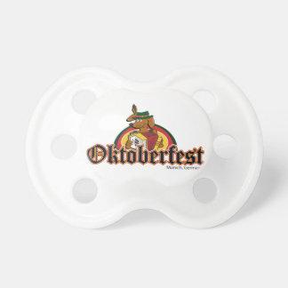 Oktoberfest Dackel Schnuller