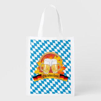 Oktoberfest deutsches Bier-Festival Wiederverwendbare Einkaufstaschen