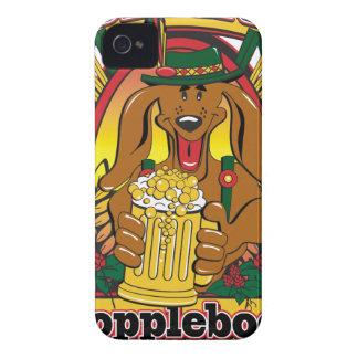 Oktoberfest Dopplebock Dackel Case-Mate iPhone 4 Hüllen