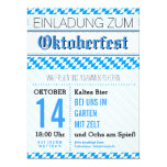 Oktoberfest Einladung 16,5 X 22,2 Cm Einladungskarte
