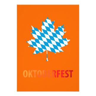 Oktoberfest Einladungskarte