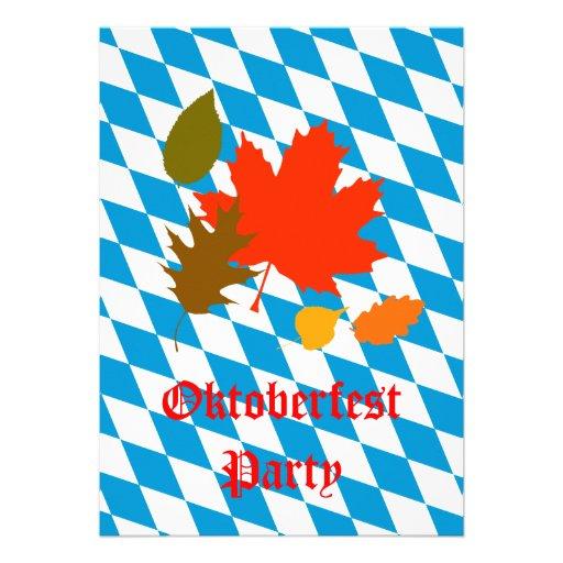 Oktoberfest Personalisierte Einladungskarten