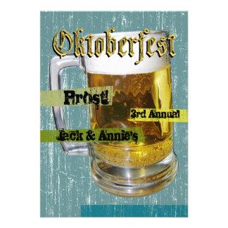 Oktoberfest Personalisierte Einladung