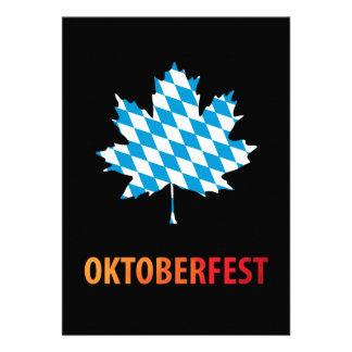 Oktoberfest Ankündigungen
