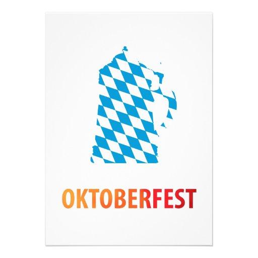 Oktoberfest Personalisierte Einladungskarte