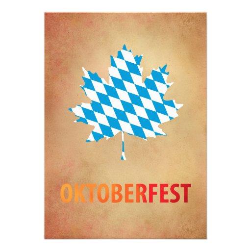 Oktoberfest Individuelle Einladung