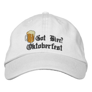"Oktoberfest ""erhielt Totenbahre?"" Gestickte Kappe"